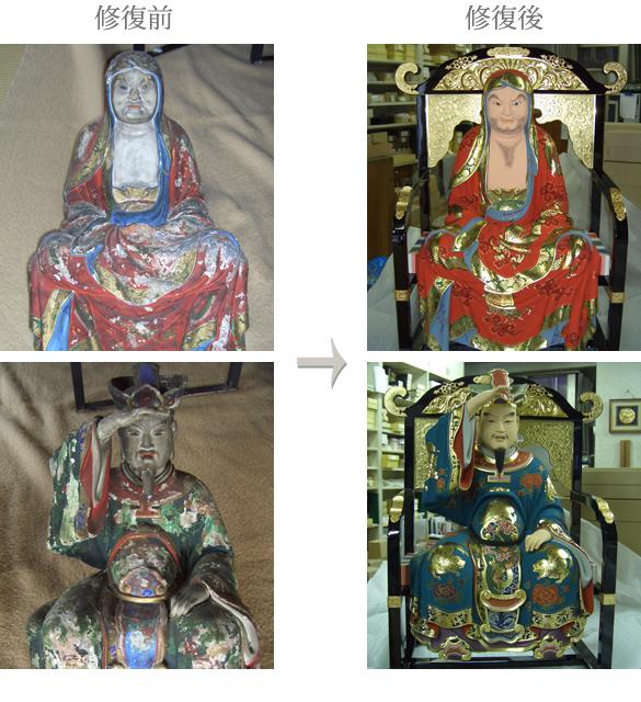 荘厳具・仏像修復
